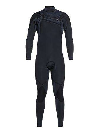 Quiksilver Men/'s Syncro Series 4//3mm Chest Zip Full Wetsuit Jet Black New