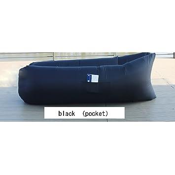 ltuotu ligero aire sofá cama Sleep inflación Bolsa tumbona hinchable de sofá sofá senderismo herramienta para actividades al aire libre