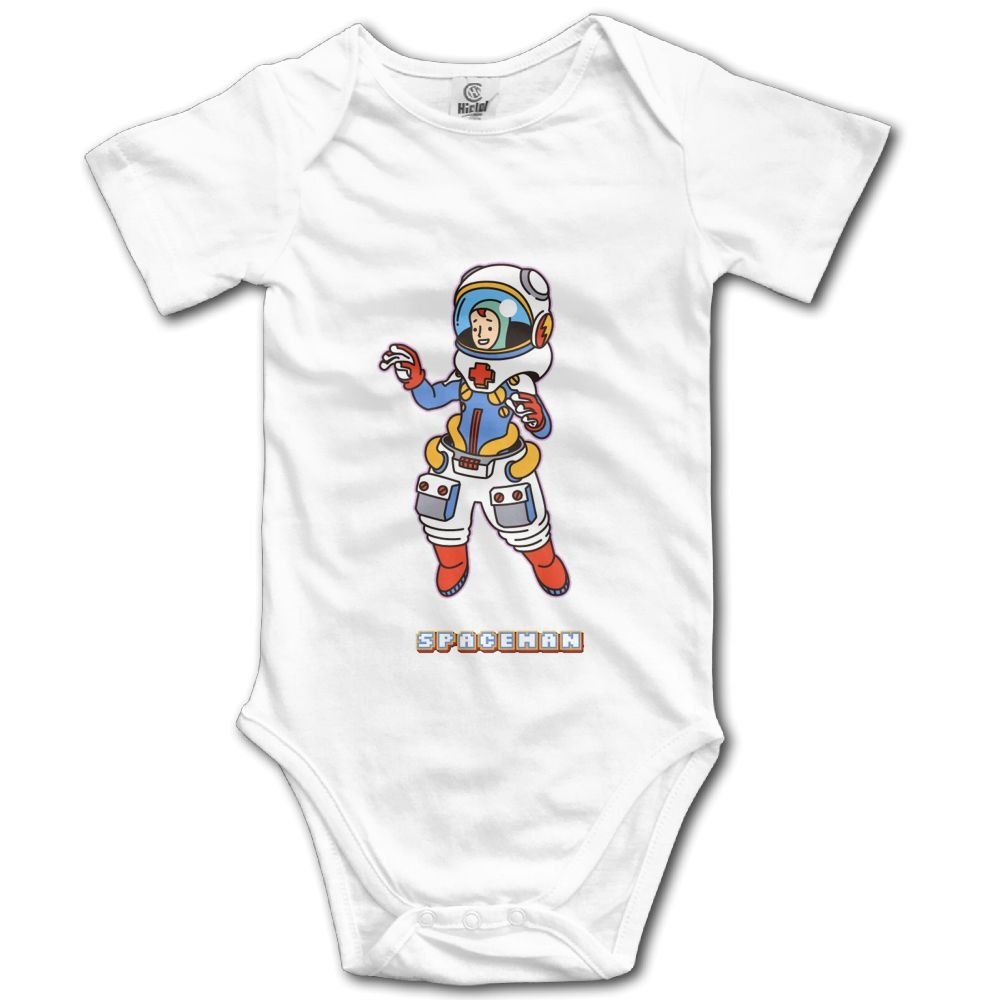 Rainbowhug Spaceman Astronaut Unisex Baby Onesie Cartoon Newborn Clothes Funny Baby Outfits Comfortable Baby Clothes