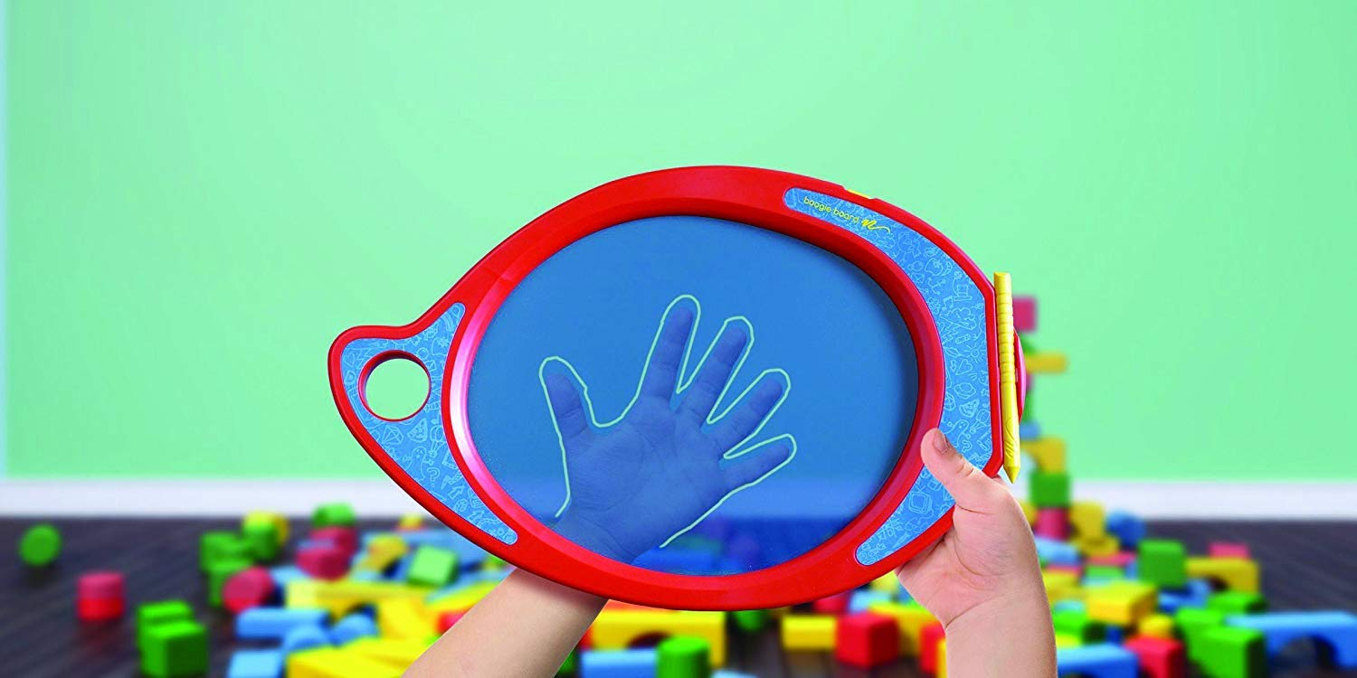 Trace PL0310001 Boogie Board Play and Trace LCD Writing Tablet Clear See-Through Writing Surface for Kids to Write and Draw eWriter Ages 3