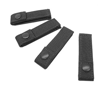 """CONDOR 223-002 4"""" MOD Strap Black (4 Pcs)"""