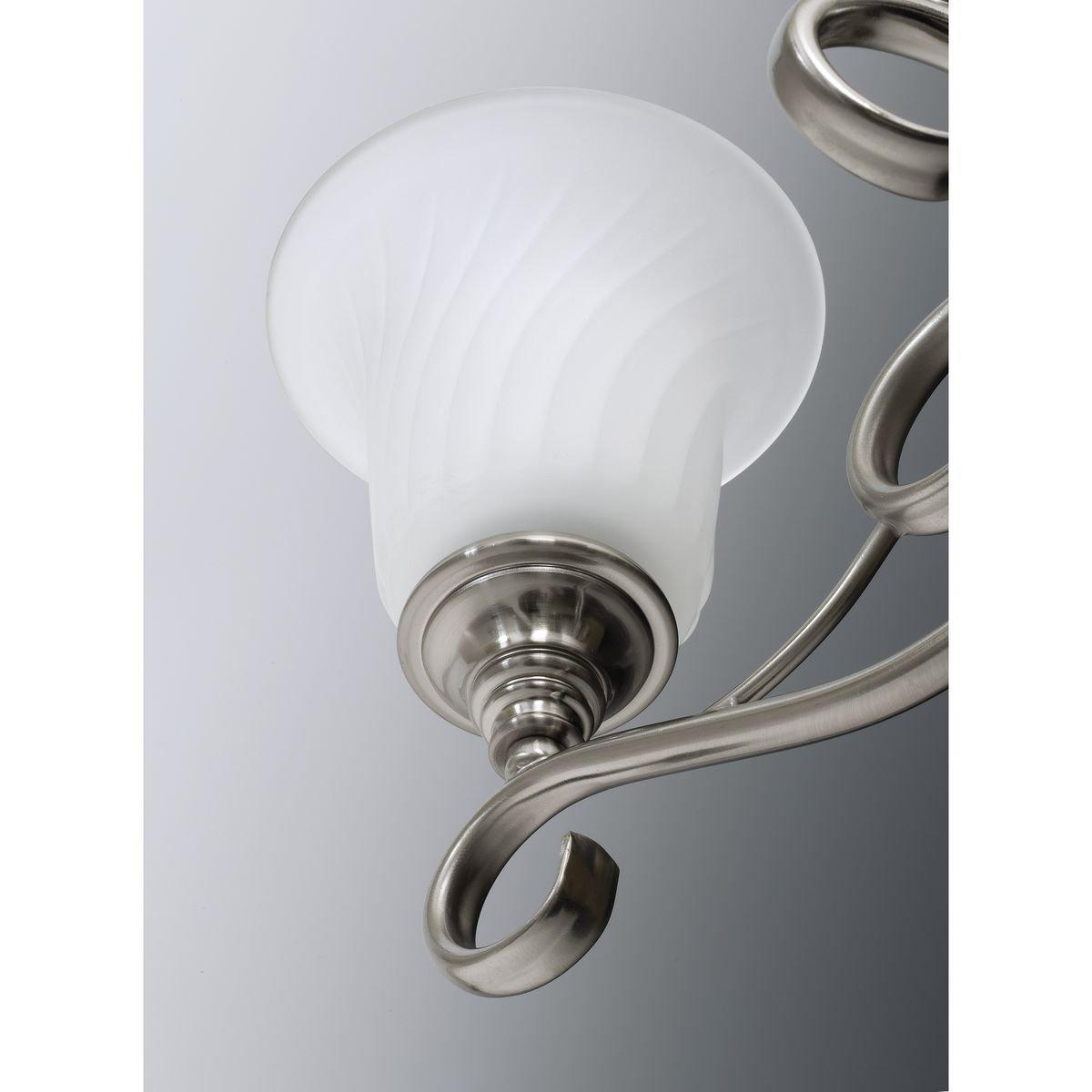 Progress Lighting P3829-09 Med Semi-Flush, 2-100-watt
