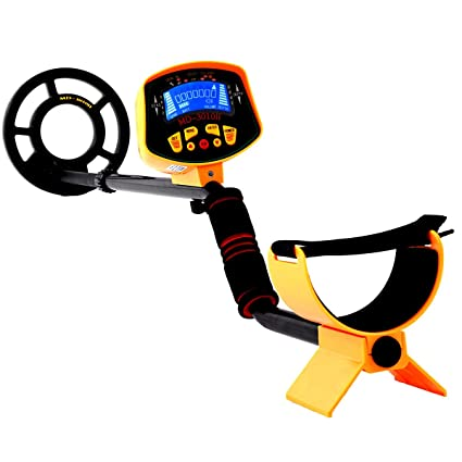 Amazon.com : New MD-3010II Metal Detector Gold Digger Deep Sensitive Light Hunter LCD Display : Garden & Outdoor