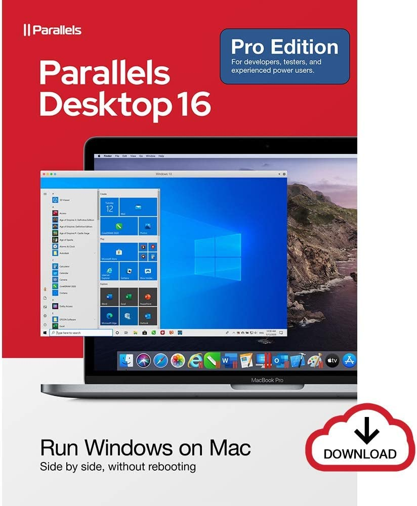 Parallels Desktop Pro 16 for Mac | 1-Year Subscription [Mac Online Code]