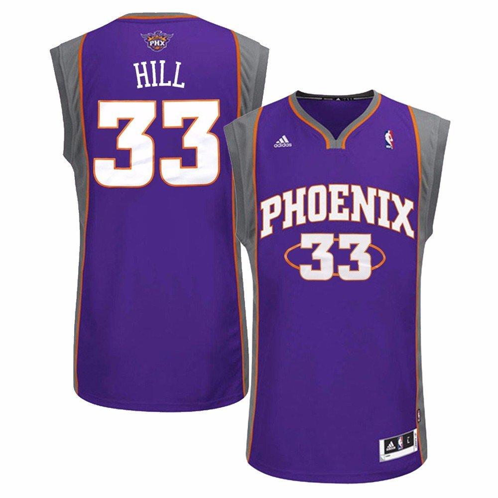 pretty nice 4e12d bf867 Amazon.com : adidas Grant Hill Phoenix Suns NBA Men's Purple ...
