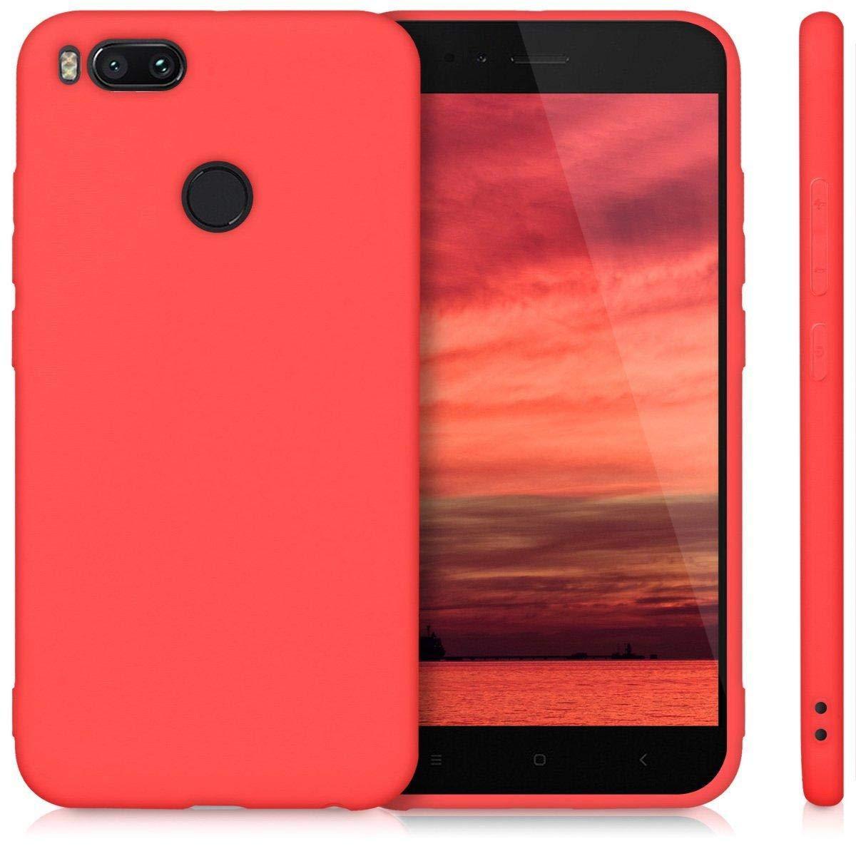 Xiaomi Mi A1 /Mi5X TPU Case cover protector case For Xiaomi Mi A1 /Mi5X  cover-Red