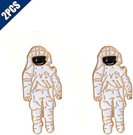 Simple Color Astronaut Corsage Fashion Jewelry Pin Clothing Accessories Brooch