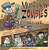 munchkin board game - Steve Jackson Games Munchkin Zombies Deluxe
