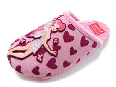 DIAMANTINO Accent Slipper Slipper Home Fairy Female Pink