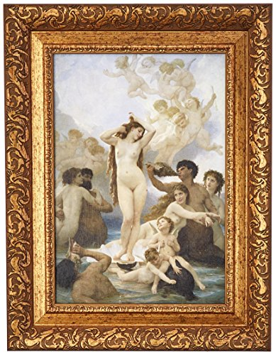 Design Toscano La Naissance de Venus, 1859 Canvas Replica Painting (The Birth of Ve. by Design Toscano