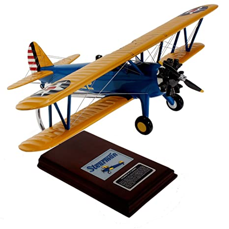 Mastercraft Collection Boeing PT-17A Stearman Kaydett Model Scale:1/22