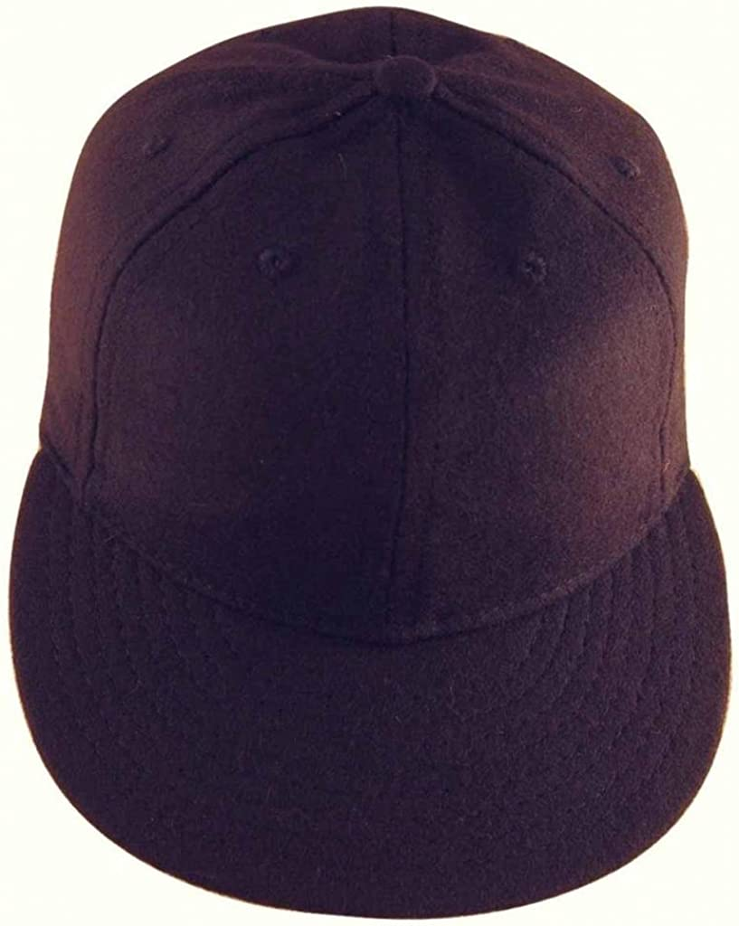 Solid Wool Vintage Baseball Cap 1940s Style Ideal Cap Co