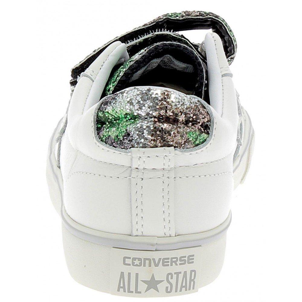 Converse Converse Converse - Converse Pro Leather Vulc Strap Ox schuhe Sportive damen Bianche Strappi - Weiss 39 4acf78