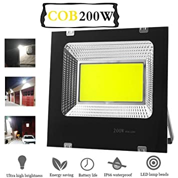 Ying Proyectores Led Exterior, Super Brillante LED Floodlight ...