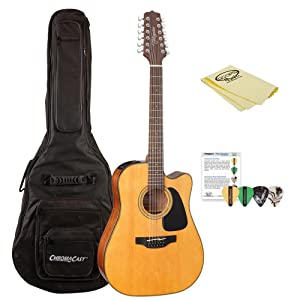 Takamine GD30CE-12 NAT-KIT-1 Dreadnought 12-String Cutaway Acoustic-Electric Guitar review