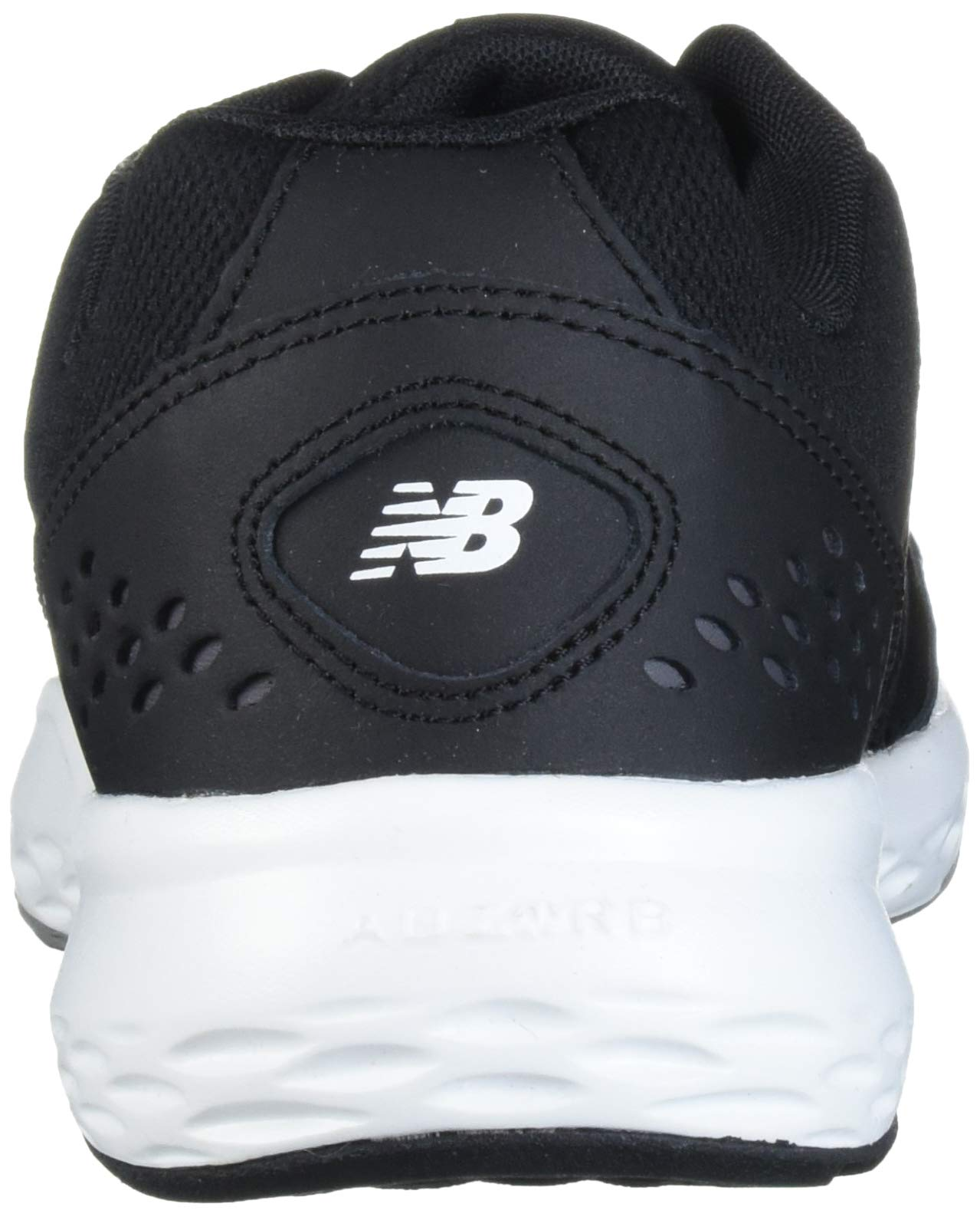 New Balance Men's 517v2 Cross Trainer, Black/White, 10 M US