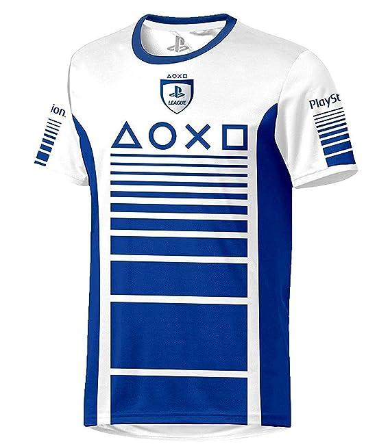 Sony Playstation - Speed Esports - Hombre Oficial Camiseta de Fútbol: Amazon.es: Ropa y accesorios