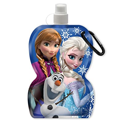 Disney Frozen Water Bottle Key Ring: Toys & Games