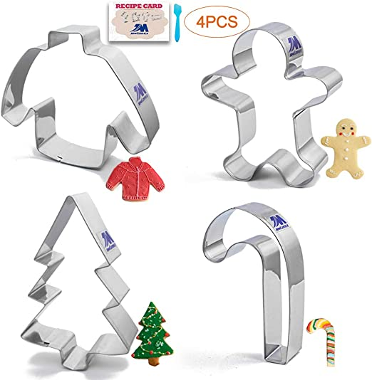 """WILTON Plastic Cookie Cutter CANDY CANE Christmas 3 ¼/"""""""