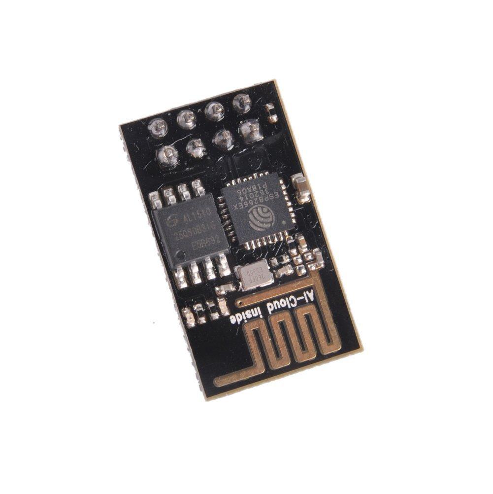 Kuman 2pcs ESP8266 Esp-01 Sendeempf/änger-Modul Esp-01 WLAN f/ür Arduino UNO R3 Mega2560 Nano KY45 Serial Wifi Wireless Transceiver