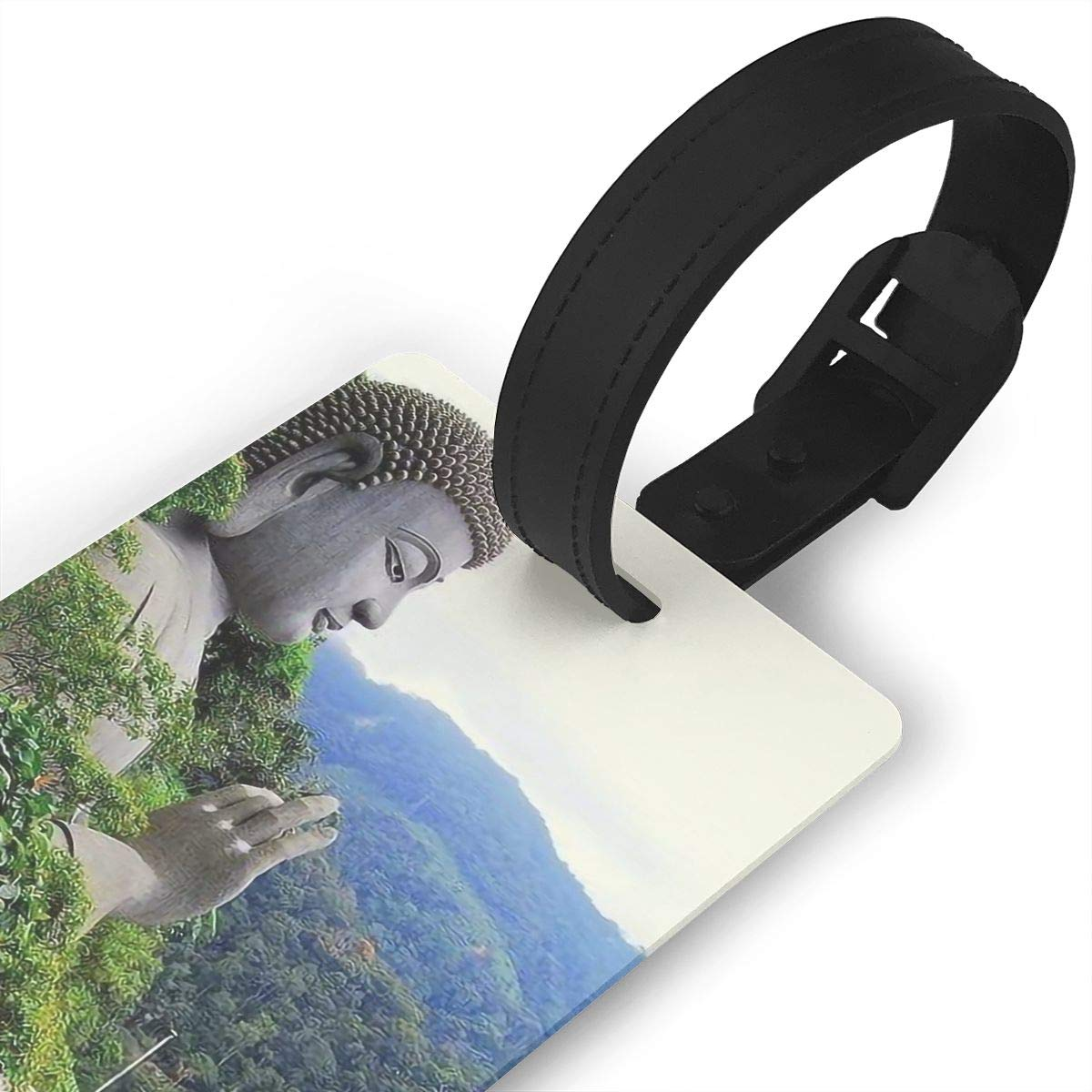 Buddhism Cruise Luggage Tag For Travel Tags Accessories 2 Pack Luggage Tags
