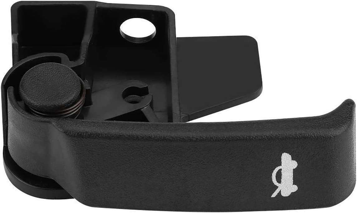 Hood Latch Release Handle ABS Plastic 15741109 Auto Hood Release Pull Handle for Chevrolet Chevy GMC Truck 1995-2007