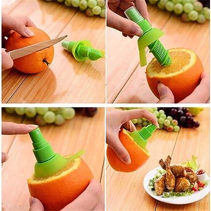 Max Juego 2 X Exprimidor Spray pulverizador Concentrado Limón Lima Cocina Exprimidor de Cítricos: Amazon.es: Electrónica