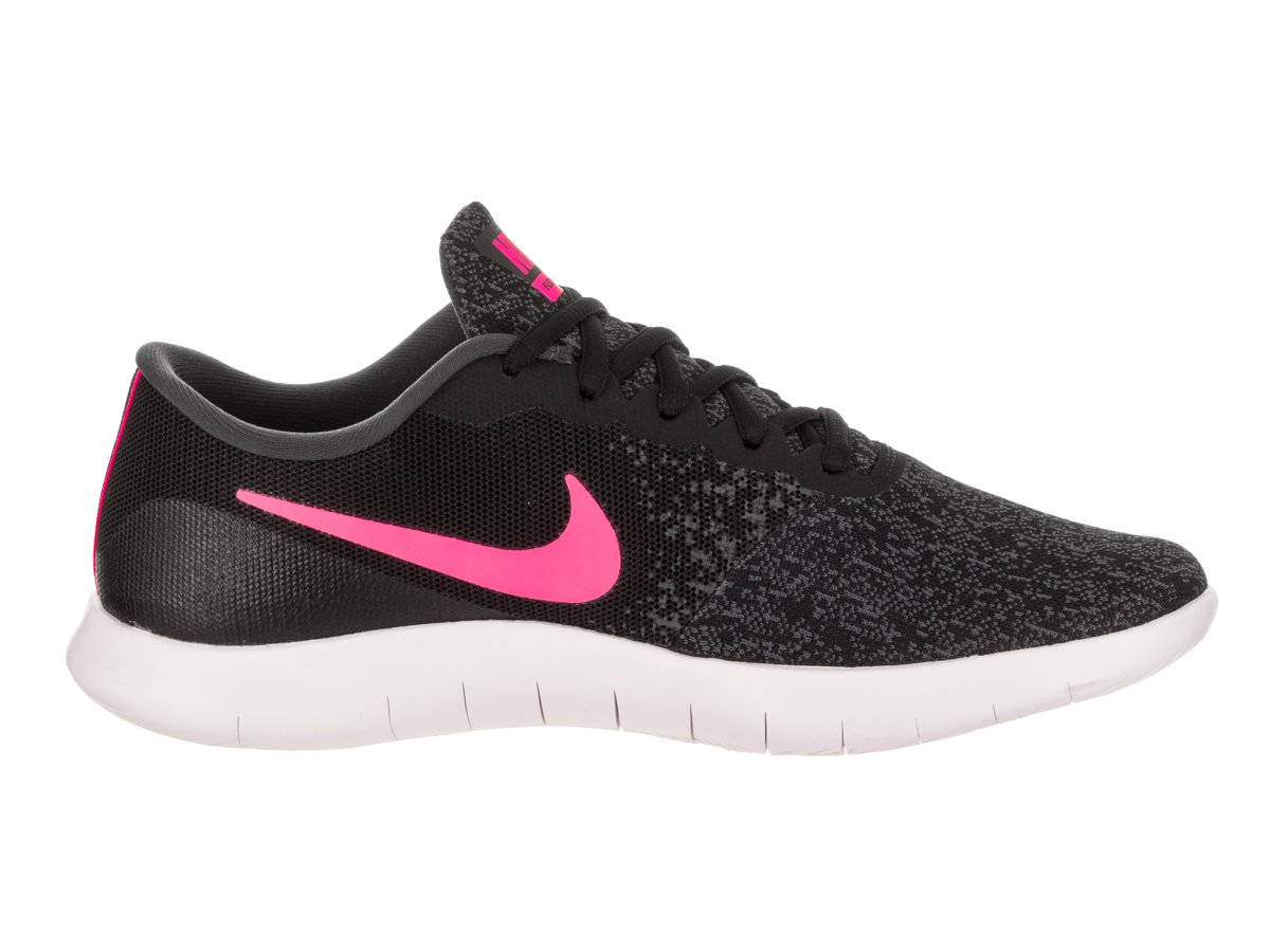 NIKE Women's Flex Contact Running Shoe B076W4L5FH 10 B(M) US|Black/Hyper Pink-anthracite-white
