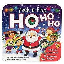 Ho Ho Ho: Peek-a-Flap Board Book