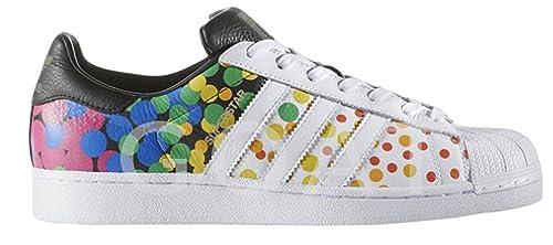 : adidas Originals hombre Superstar Casual Sneake