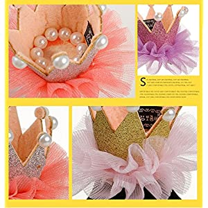 Stock Show 1Pc Pet Dogs Hairpin Princess Style Laced Crown Hair Clips Headdress Grooming Accessories for Cats Puppy Rabbits, Silvery
