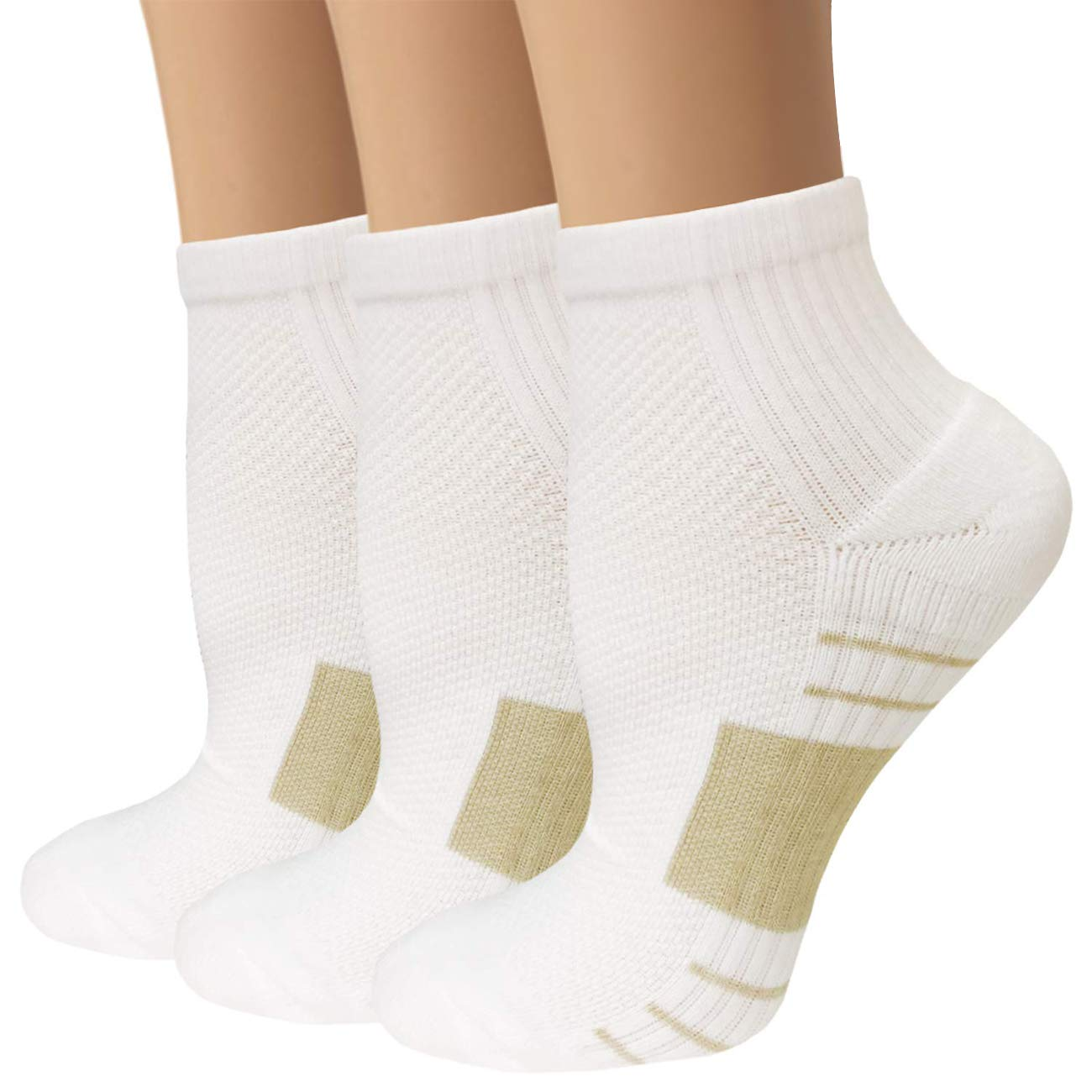【年中無休】 男性/女性用ニーハイGraduated Compression Socks (7パック) – 15 Large X-Large|3white X-Large – 20 mm Hg – 通気性 – 防止疲労/腫れ B07LGQDWY5 3white Large/ X-Large Large/ X-Large|3white, 香焼町:5b42b392 --- ballyshannonshow.com