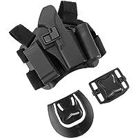 Alomejor - Cinturón de Pádel Derecho con Cierre Rápido Ajustable para piernas y Muslos, con Revista y Bolsa de Linterna, 4 Tipos