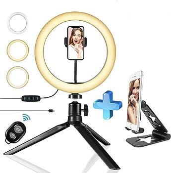 Summa 10 inch Selfie Ring Light