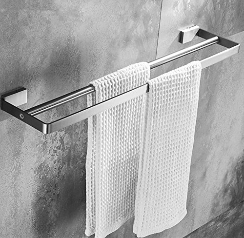ELLO&ALLO 24-Inch Bathroom Double Towel Bar Holder,SUS 304 S