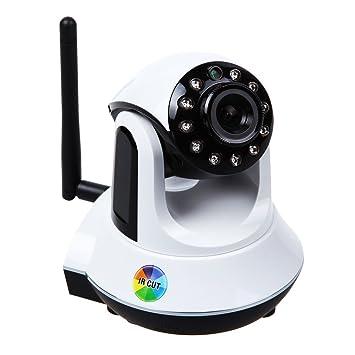 NUEVO Mega Pixeles HD 1280 x 720p Mini Vigilancia sin cable con IRCUT P2P panorámico/