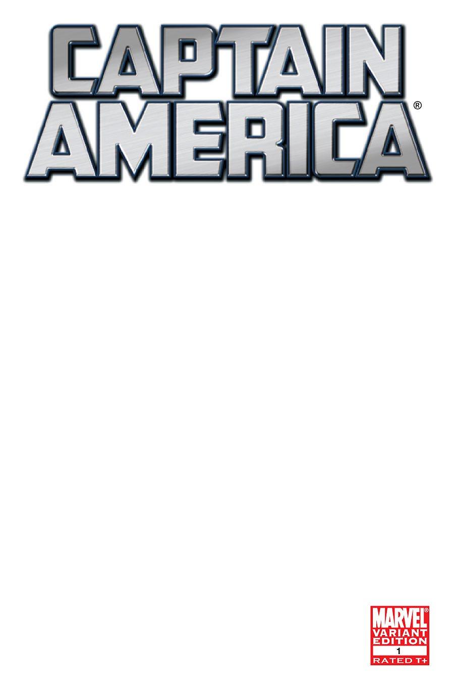 "Captain America #1 ""Blank Cover Variant"" pdf"
