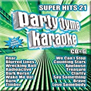Party Tyme Karaoke - Super Hits 21 [16-song CD+G]