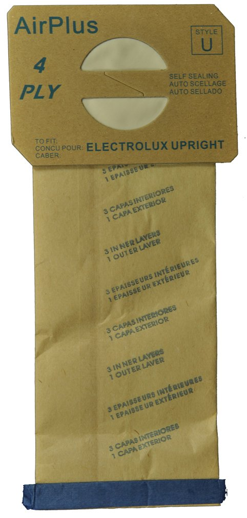 Generic Electrolux Style U Vacuum Cleaner Bags - 100 Bags