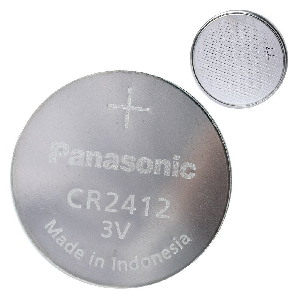 Panasonic CR2412 Lithium Battery 3V (2 Batteries Per Pack)