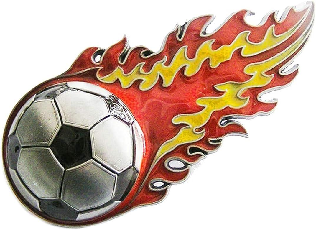 Marcas de fútbol, fuego la cola, España - hebilla de cinturón: Amazon.es: Ropa y accesorios