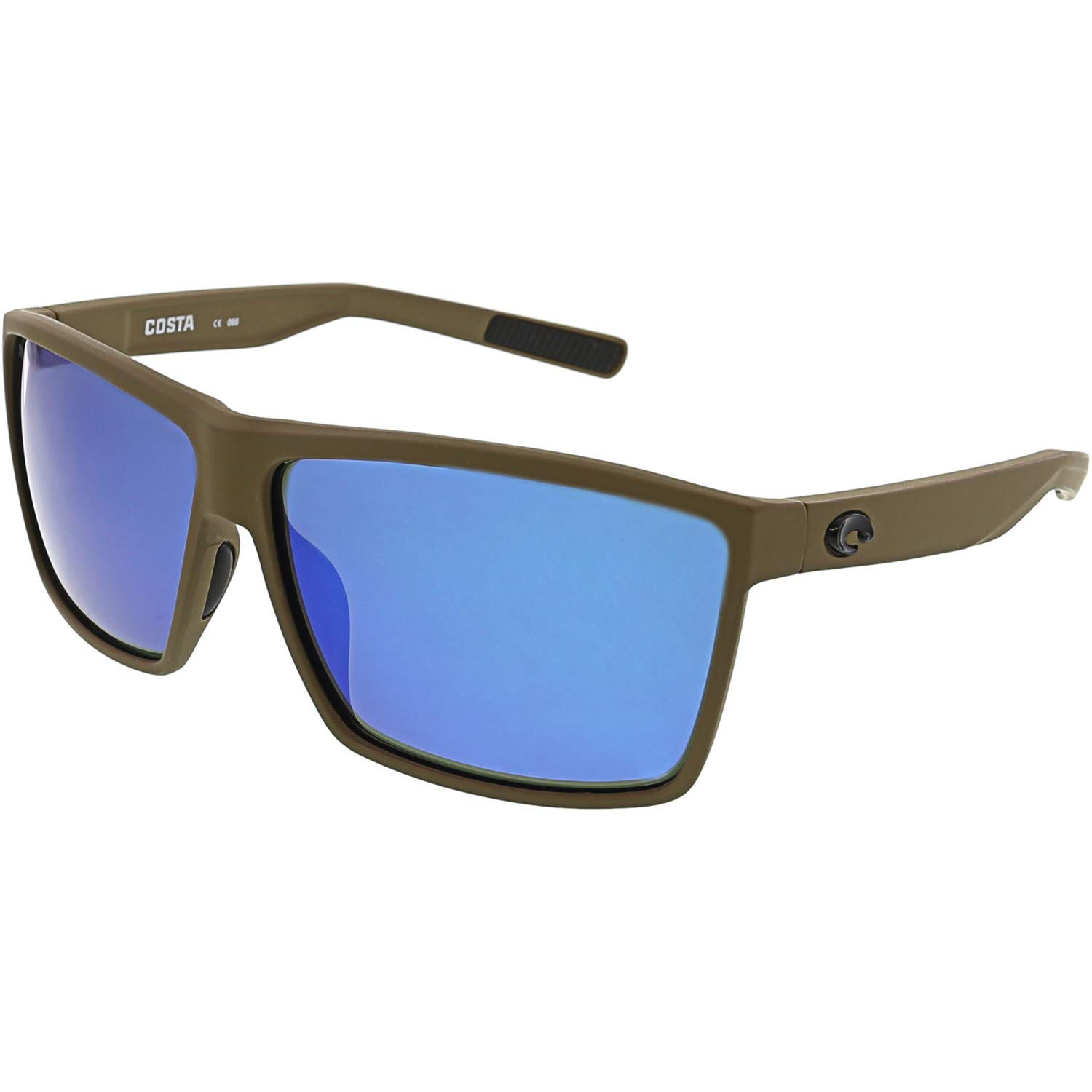 Costa Del Mar Rincon Sunglasses Moss/Blue Mirror 580Glass by Costa Del Mar