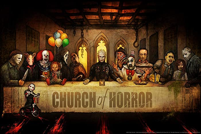 Slash Supper by Big Chris Horror Movie Poster 36x24 Inch