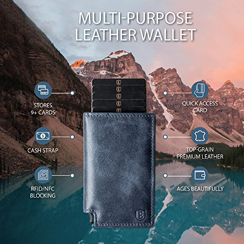 Ekster Parliament Slim Leather Wallet- RFID Blocking- Quick Card Access by Ekster (Image #3)