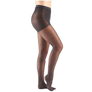 f1589e0f6 Image Unavailable. Image not available for. Color  Women s Support Plus  Mild 8-15 mm Hg Compression Pantyhose - Black - Extra