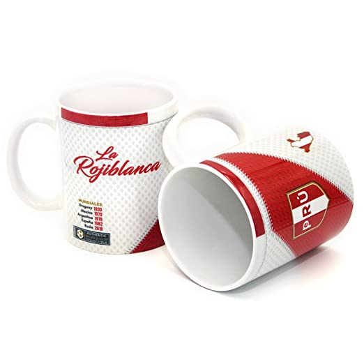 Amazon.com | Gio Gifts Peru Mug Soccer Coffee/Tea Mugs & Cups 11 Oz Collectible: Coffee Cups & Mugs