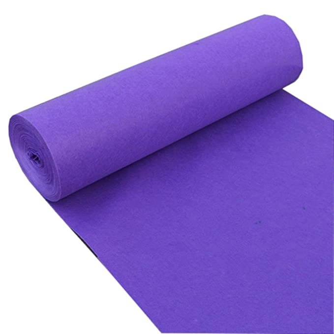 Amazon.com: WSGZH Carpet Wedding Rug Purple Rug Wedding ...