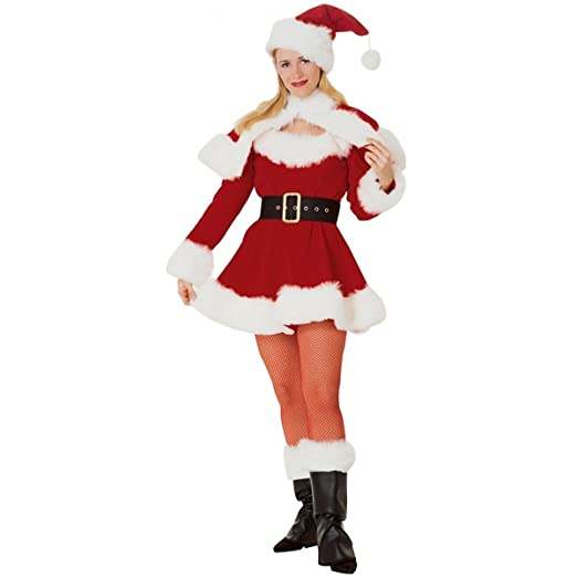 83201043621 Rubie's Adults Classic Sexy Mrs. Santa Claus Costume