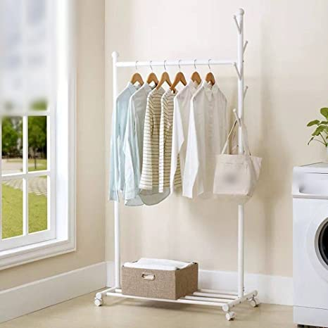 Amazon.com: recámara Coat Rack/salón Perchas/Hanging Frame ...