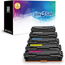 INK E-SALE Cartucho de tóner de Repuesto para HP 131A HP CF210A 131X CF210X Canon 131 para Uso con HP Laserjet Pro 200 Color M251nw, HP MFP M276nw, Canon ImageCLASS MF8280Cw LBP7110Cw, 5 Unidades